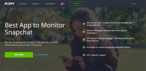 mspy snapchat monitoring