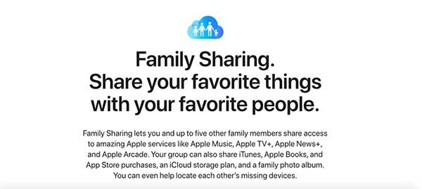 family sharing app